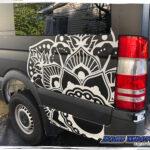 rage wraps ragewraps dodge sprinter 3m matte black vinyl vehicle wrap